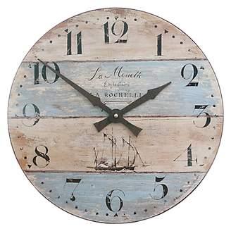 Lascelles Coastal Stripe Wall Clock, Dia.36cm, Multi