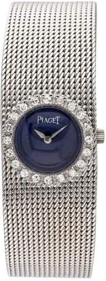 Piaget Vintage Silver White gold Watches
