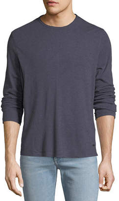 John Varvatos Men's Heathered Long-Sleeve T-Shirt
