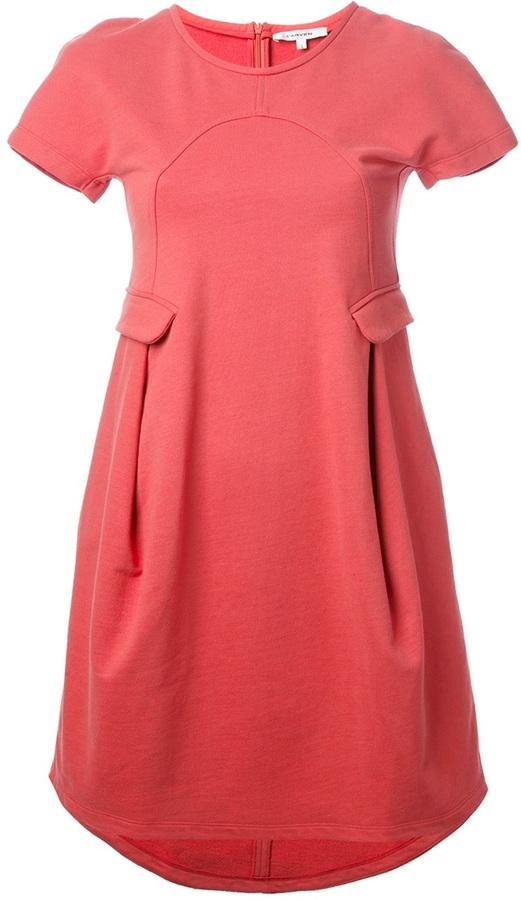 Carven a-line jersey dress