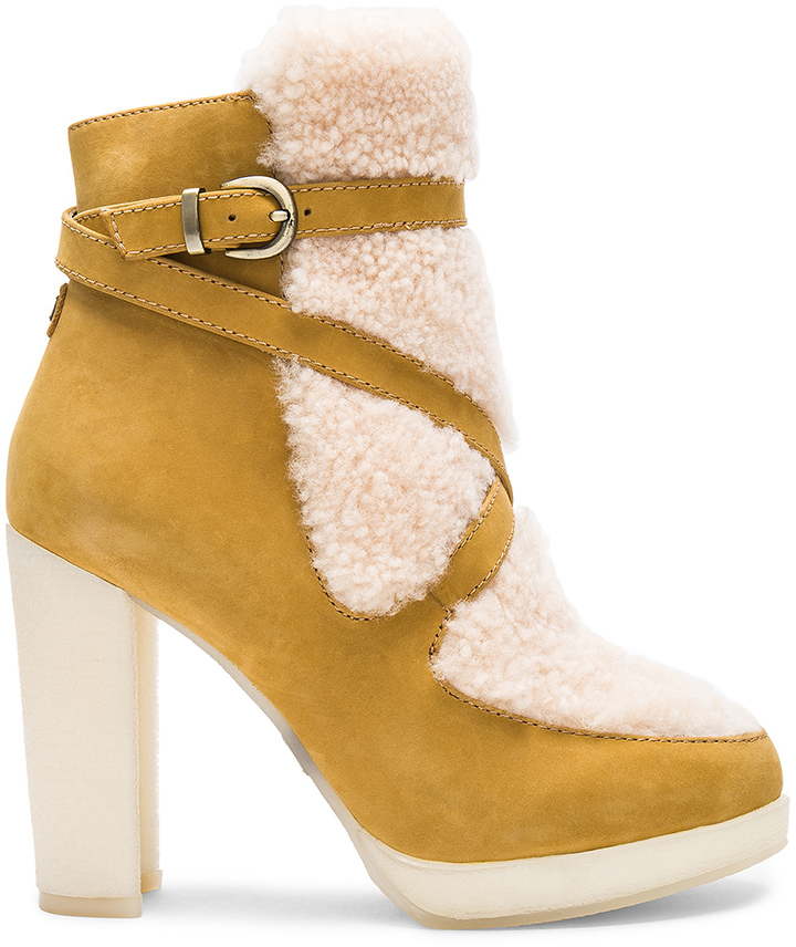 Australia Luxe Collective Australia Luxe Collective Mercy Shearling Heels