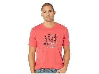 Life is Good Winter Wanderland Crusher T-Shirt