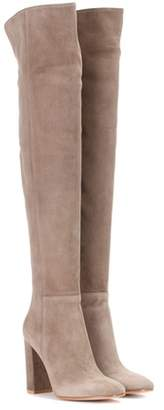 Gianvito Rossi Exclusive to mytheresa.com – Over-the-knee suede boots