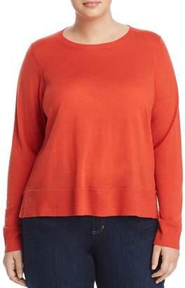 Eileen Fisher Plus Merino Wool Sweater