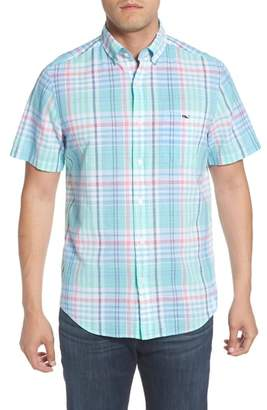 Vineyard Vines Classic Fit Jays Peak Plaid Woven Shirt
