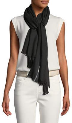 d5ea9dfa0a250 Loro Piana Black Cashmere Women's Scarves - ShopStyle