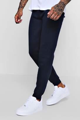 boohoo Skinny Fit Basic Fleece Joggers