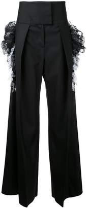 Preen by Thornton Bregazzi wide-legged high-rise trousers