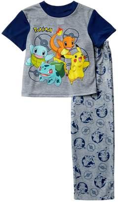 Pokemon AME Pajama Set (Little Boys & Big Boys)