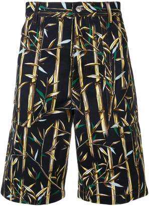 Kenzo bamboo print bermuda shorts