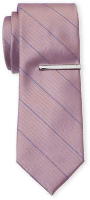 Calvin Klein Fine Line Stripe Tie