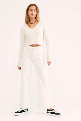 We The Free High-Rise Straight Flare Jeans