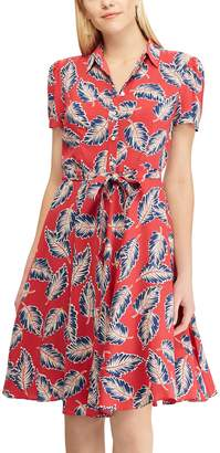 Chaps Women's Print Shirt Dress
