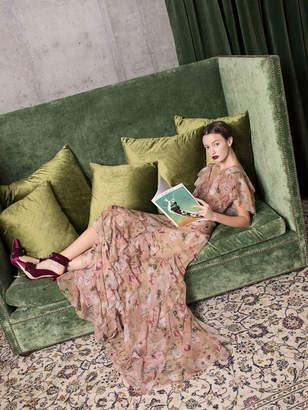 Alice + Olivia CASSIDY TIERED MAXI DRESS