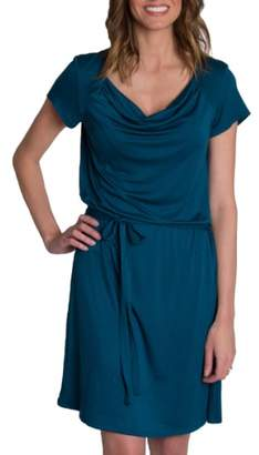 Udderly Hot Mama 'Chic' Cowl Neck Nursing Dress