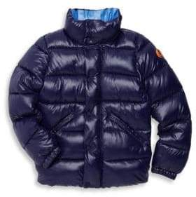 Save the Duck Little Boy's& Boy's Disney Quilted Jacket