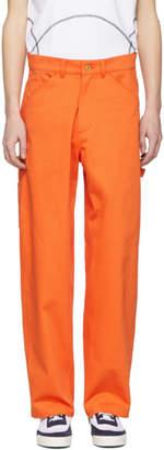 Landlord Orange Painter Trousers
