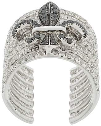 Elise Dray crown embellished ring