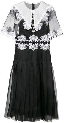 Dolce & Gabbana lace detail dress