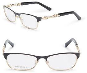 Jimmy ChooGoldtone Temple Optical Glasses