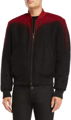 Marcelo Burlon County of Milan Red Aorjek Bomber Jacket