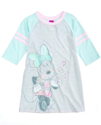 Disney's Minnie Mouse Nightgown, Little Girls & Big Girls, Created for Macy's