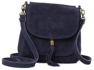 Anna Luchini Suede Shoulder Bag