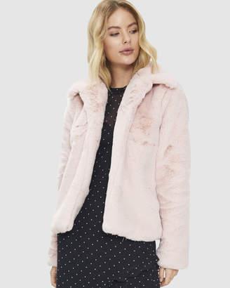 Cooper St Blushing Faux Fur Vest