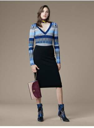 Diane von Furstenberg Knit Pencil Skirt