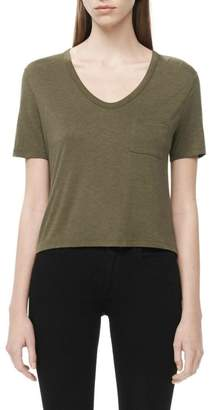 Alexander Wang Classic Cropped Tee