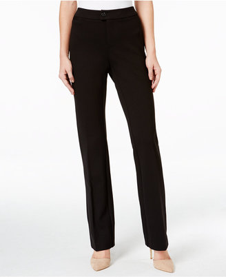 Charter Club Solid Ponte Straight Leg Pant, Only at Macy's $69.50 thestylecure.com