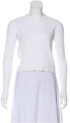 Wes Gordon Knit Long Sleeve Top