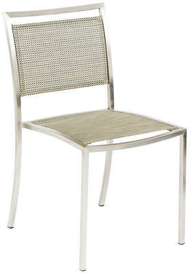 Mesh Dining Chair with Arms