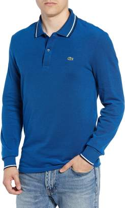 Lacoste Slim Fit Long Sleeve Pique Polo