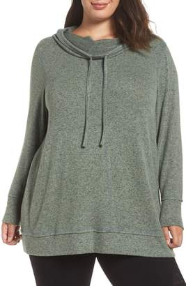 Caslon Cowl Hood Pullover