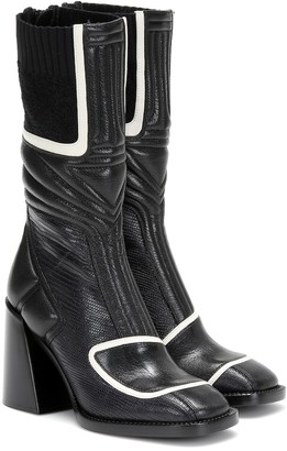 Chloé Bell leather ankle boots