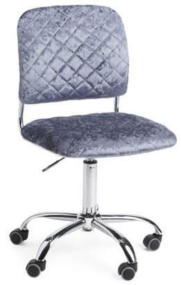 Velvet Colleen Office Chair