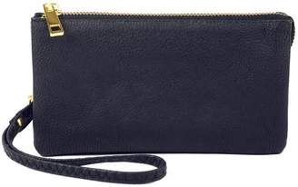 Riah Fashion Vegan Leather Wristlet