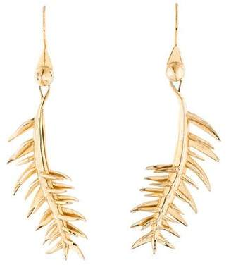 Eddie Borgo Frond Drop Earrings
