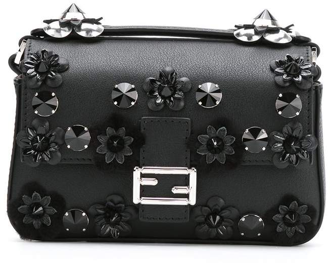 Fendi micro 'Double Baguette' crossbody bag