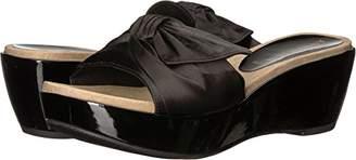 Anne Klein Women's Zandal Wedge Slide Sandal