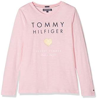 4cd073530aa8f8 ... Tommy Hilfiger Girl s Essential Tee L s T-Shirt