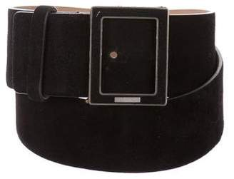 Chanel Suede Buckle Belt