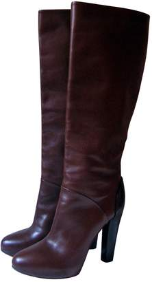 Liviana Conti Brown Leather Boots