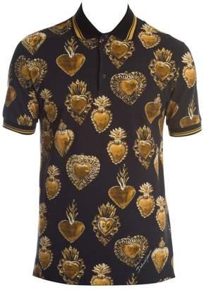 Dolce & Gabbana Sacred Heart Polo