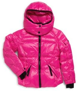 Little Girl's Solid Puffer Jacket $150 thestylecure.com