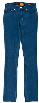 Tory Burch Low-Rise Skinny Jeans w/ Tags