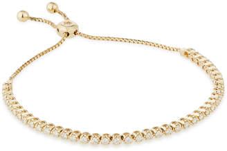Neiman Marcus Diamonds 14k Yellow Gold Adjustable Diamond Bracelet, 1.5tcw