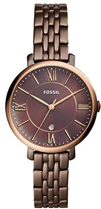 Fossil Womens Quartz Watch with Stainless Steel Strap ES4275