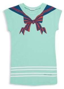 Little Marc Jacobs Little Girl's and Girl's Sailor Cap-Sleeve Dress